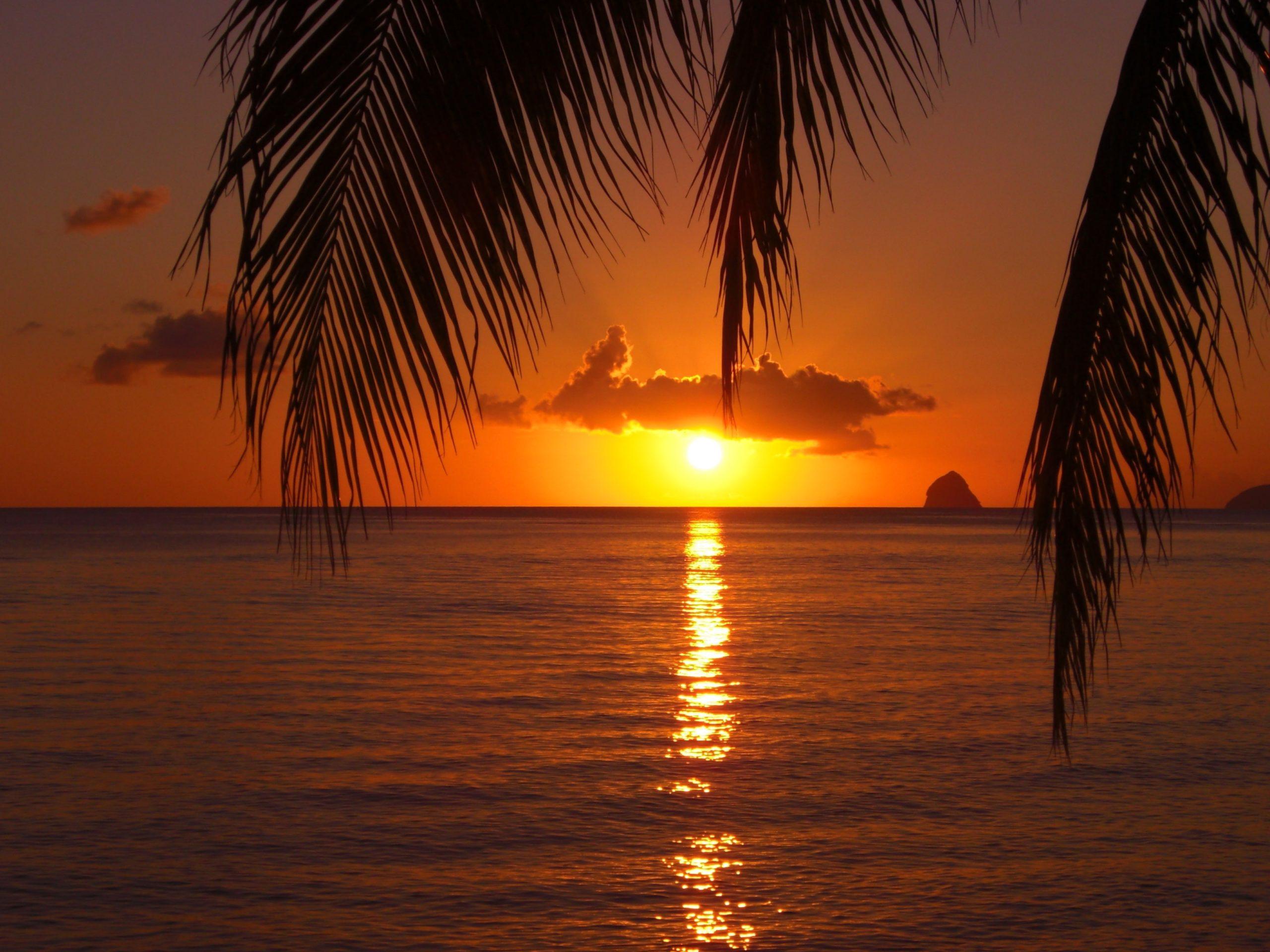 Sunset on the Diamond Rock