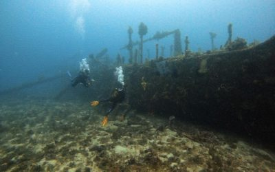 Diving on the Nahoon wreck